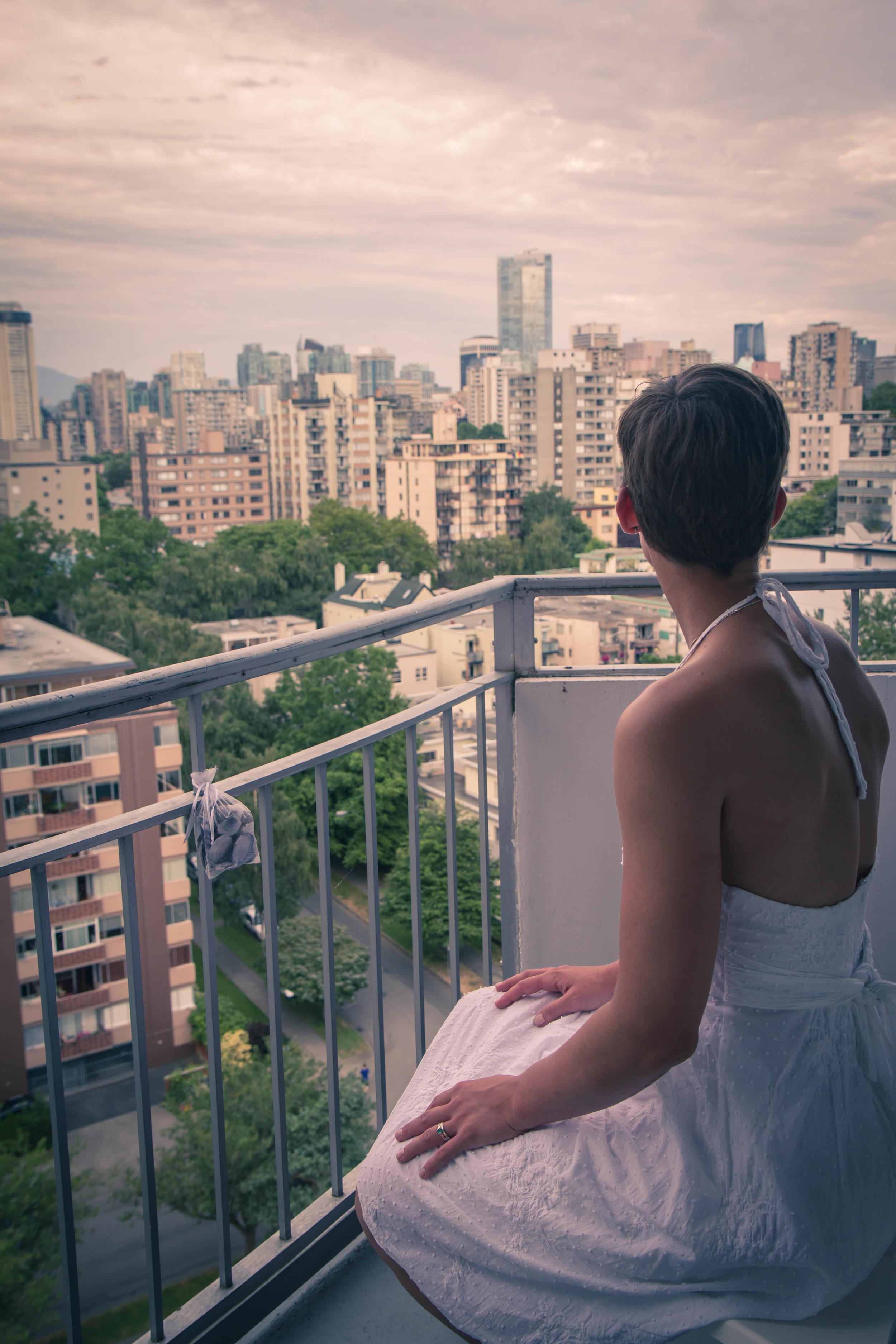Overlooking Vancouver