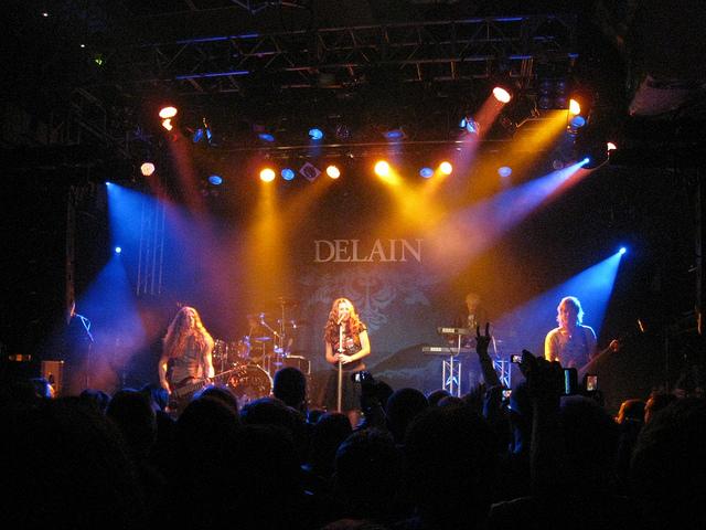 Delain in Concert