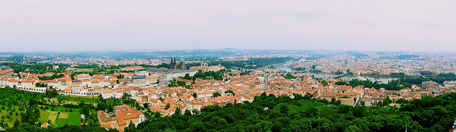 Prague Panorama View