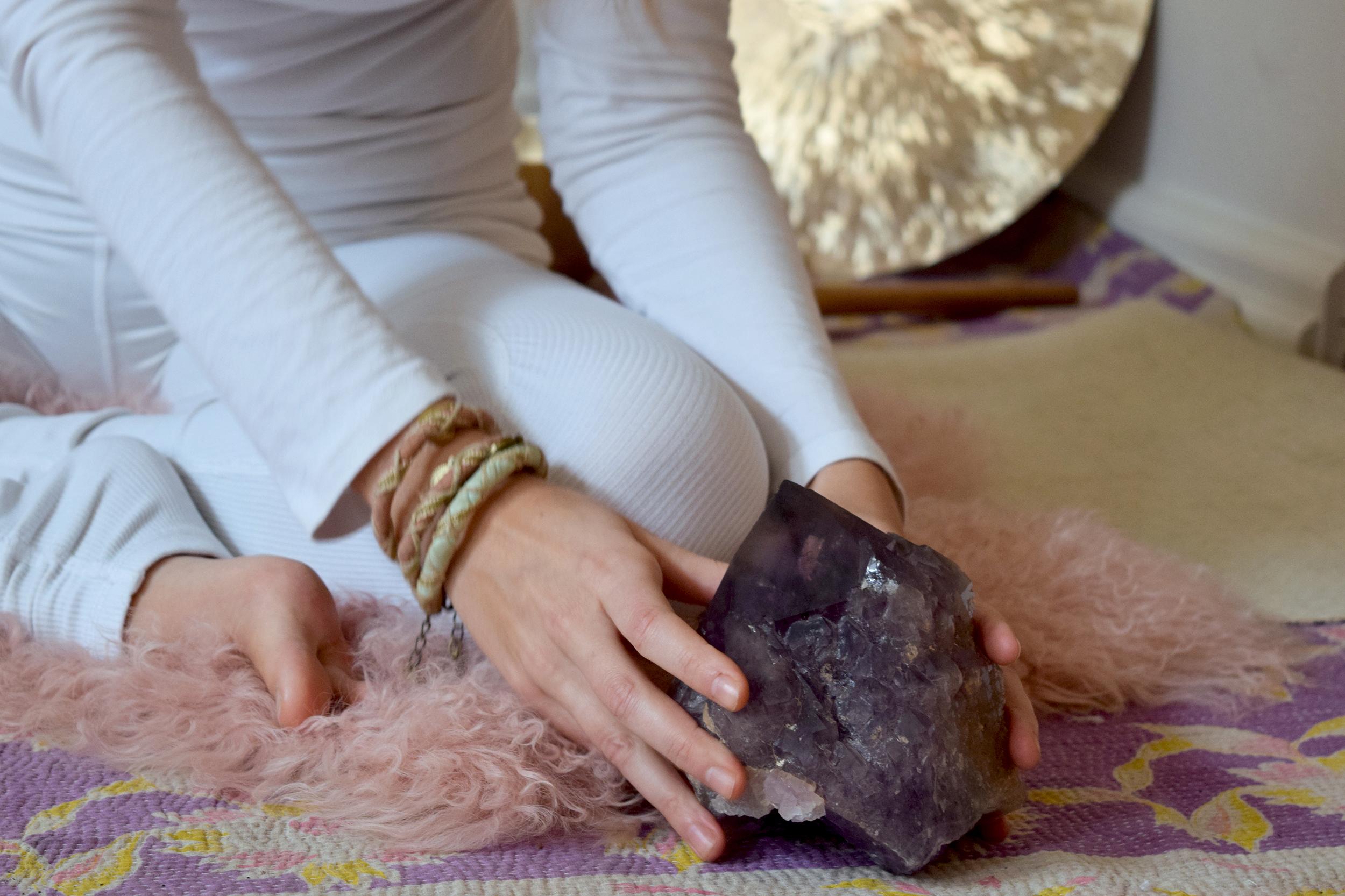 krystal meditation