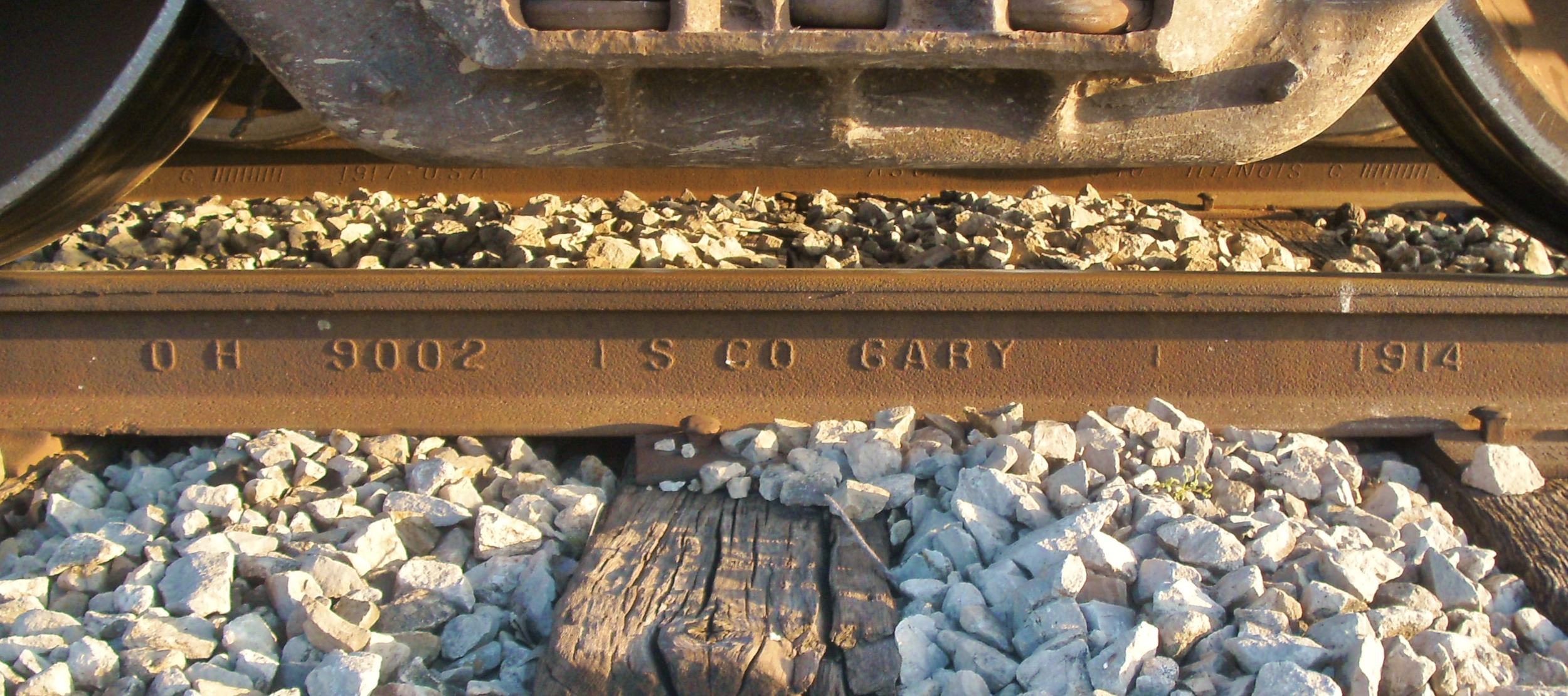 Maintaining 100-year old rail..JPG