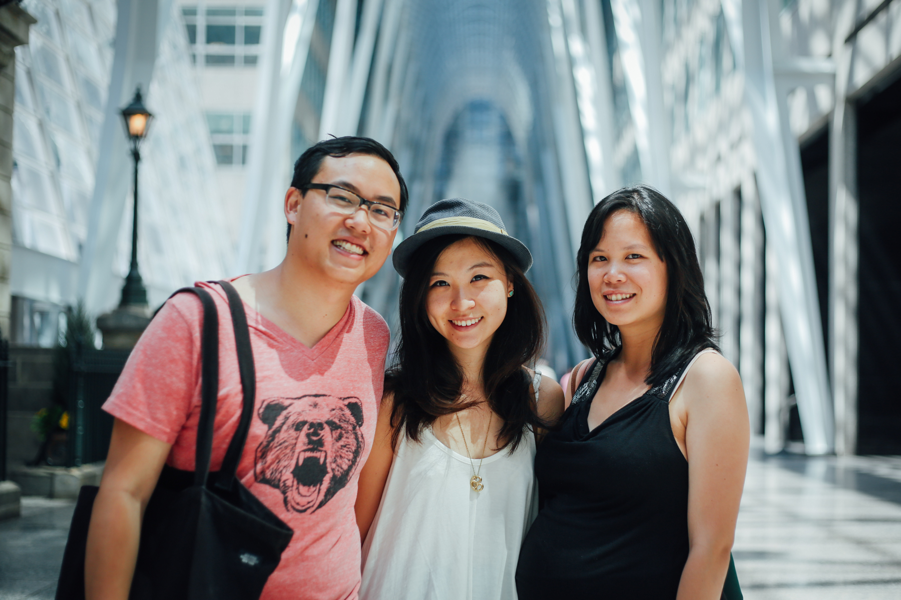 #NYCigers  @stephenmar  and  @ninjanellephant  with the multi-talented  @rushyama  at Brookfield Place, one of the most IG-worthy spots in downtown Toronto