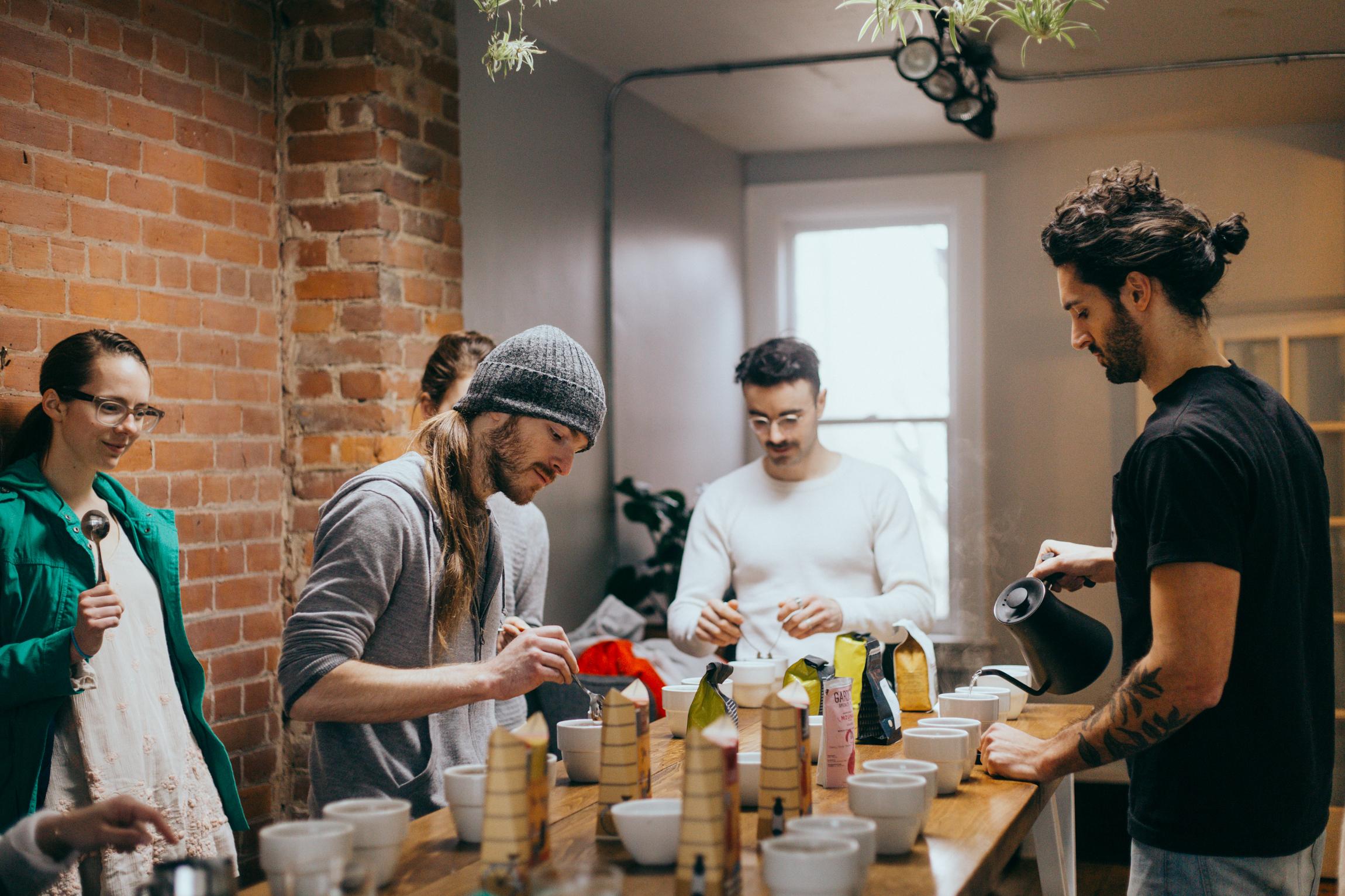 Boxcar Social - Coffee Cupping (Feb 17 2018) - Photo by Alexa Fernando @ajfernando - 40.jpg