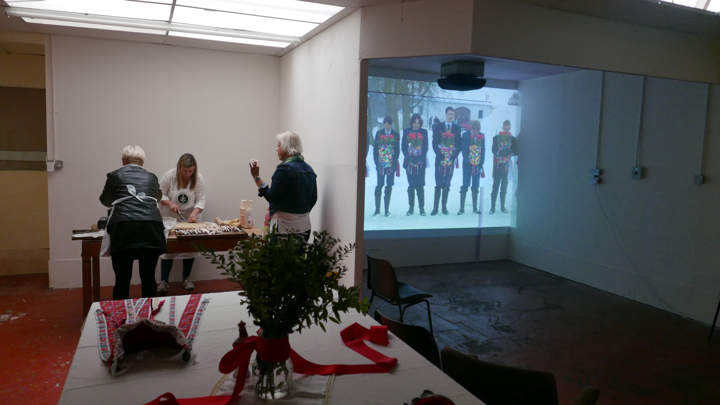 Films being shown in the Craft Room