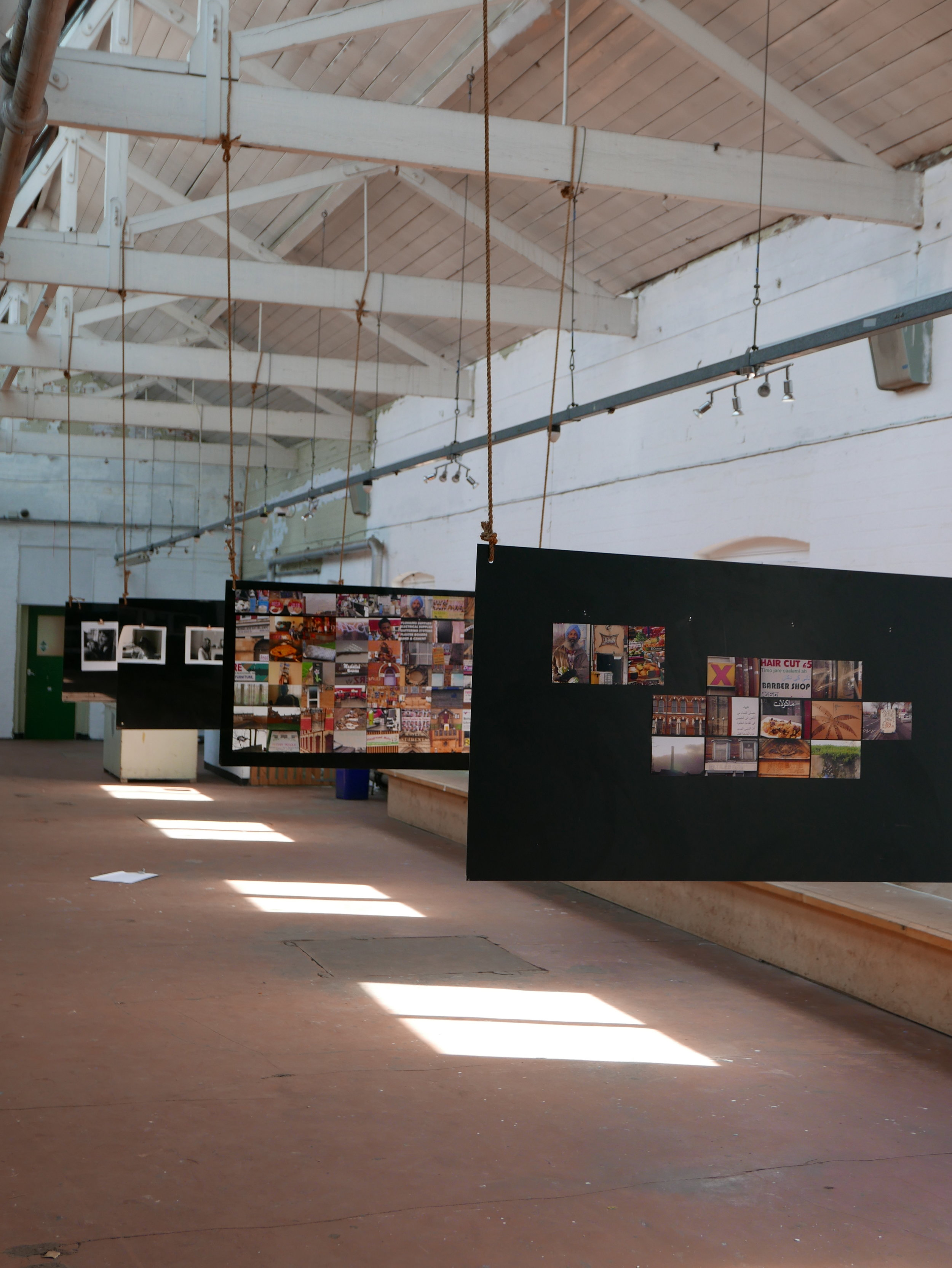 The Upper Gallery being used for a photography exhibition