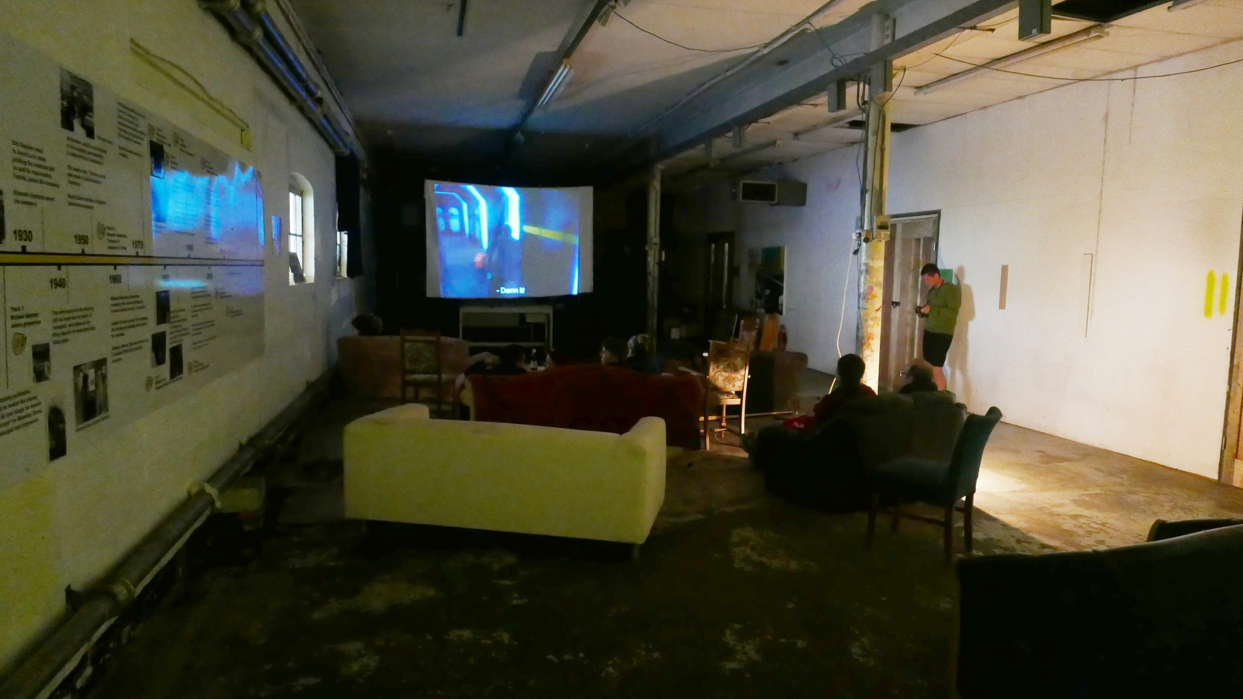 Films being shown in the Lower Gallery