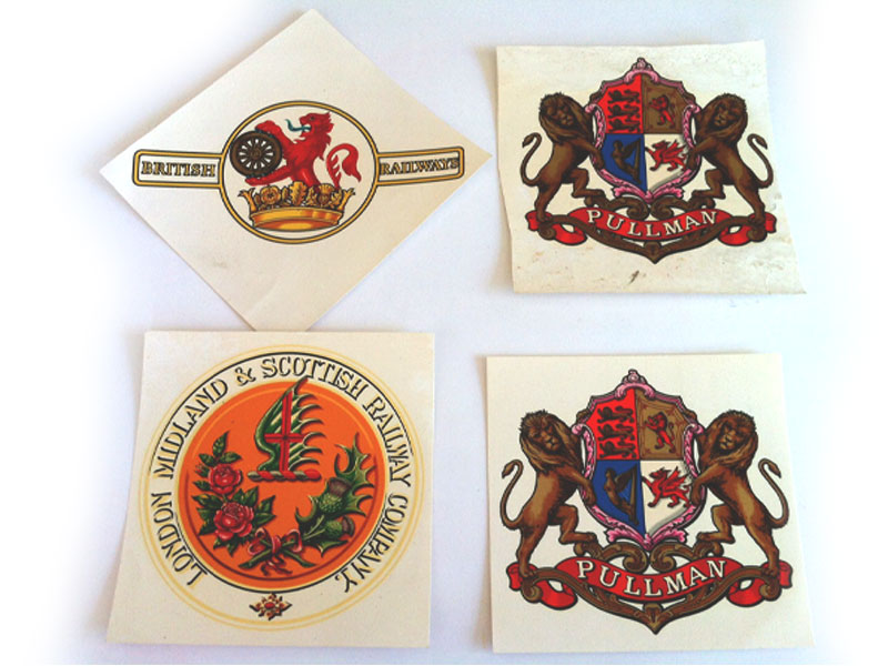 London Midland and Scottish Railway Company, British Railways and Pullman crest transfers