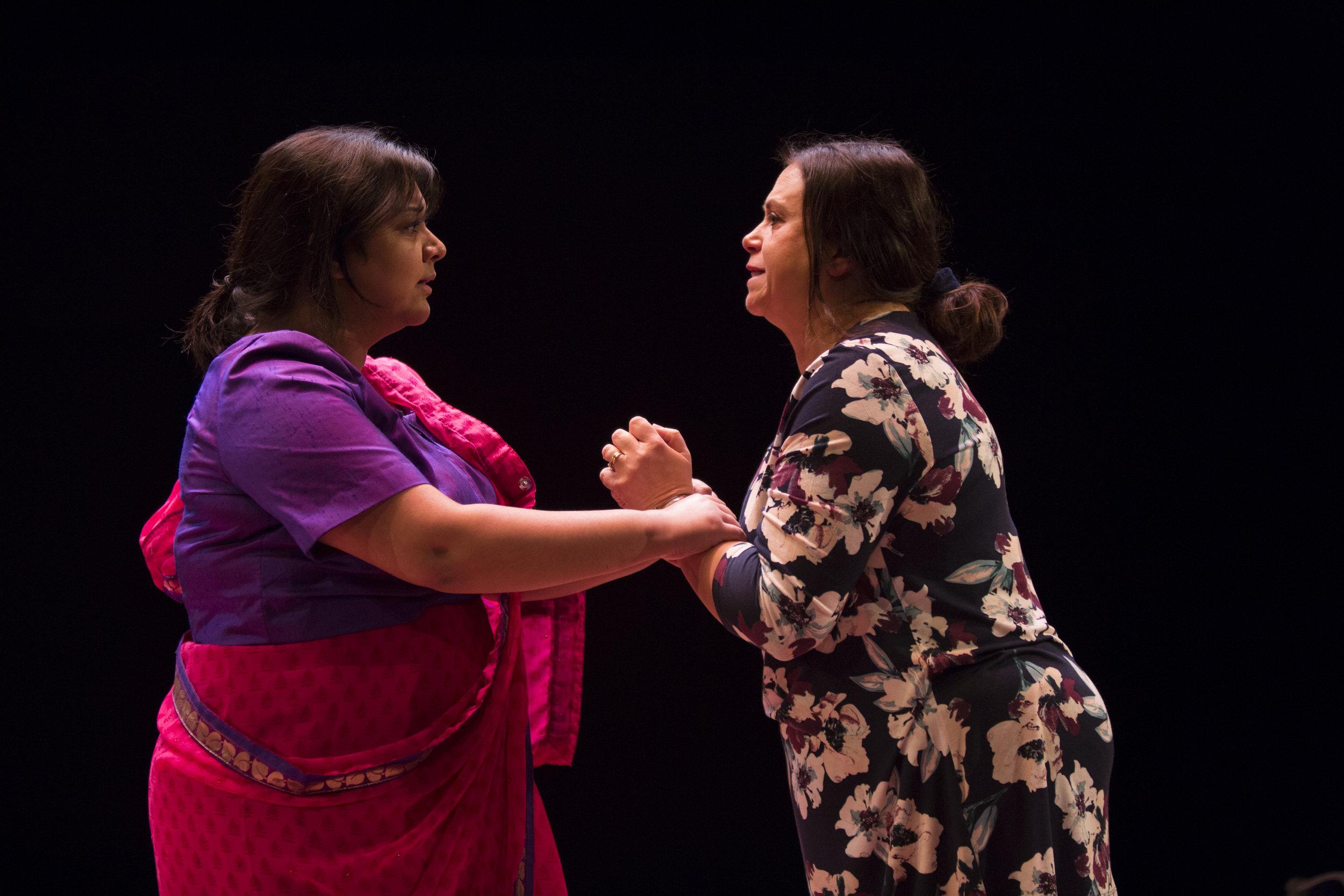 Sukh Ojla as Vira and Yasmin Wilde as Deesh_credit Ellie Kurttz.JPG
