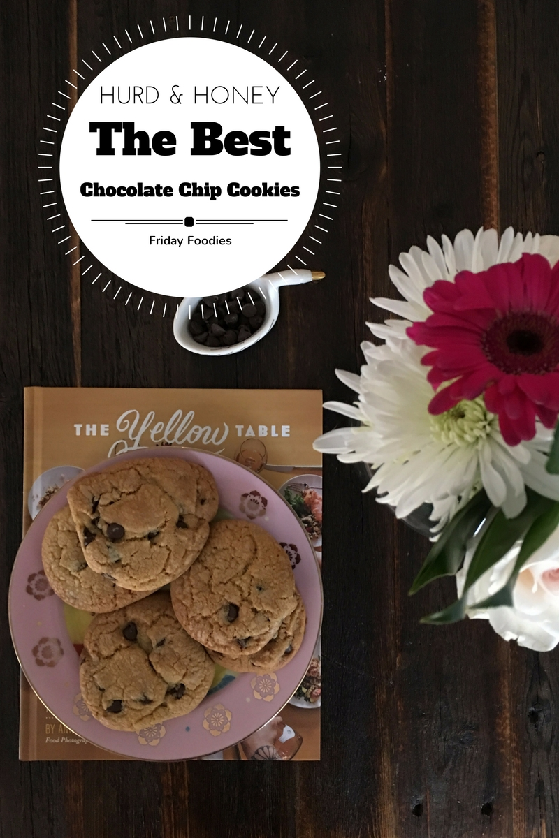 The most delicious chocolate chip cookies EVER!