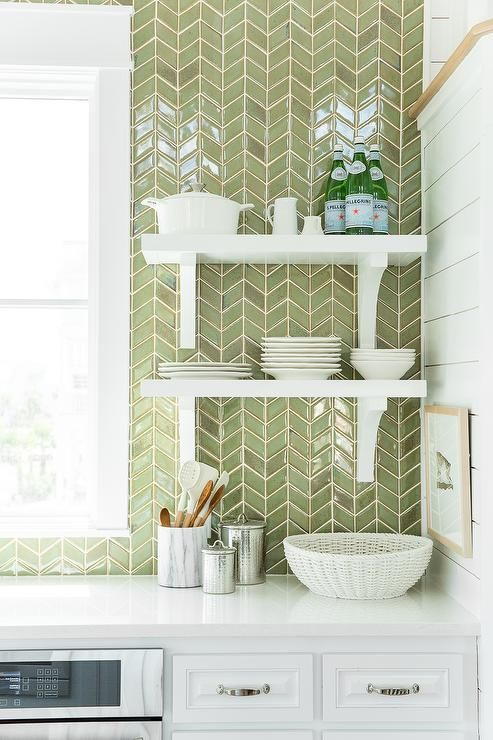 Instead of Subway Tile - Kitchen Backsplash Ideas — H u r d ...
