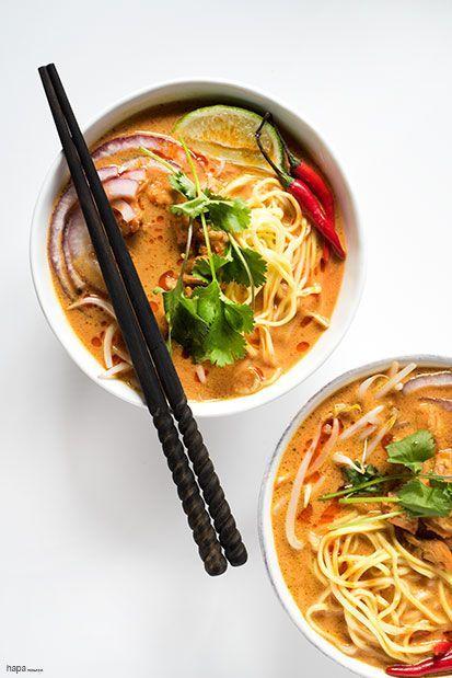 SPICY THAI CURRY NOODLE SOUP