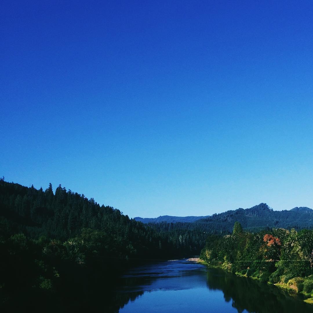 Umpqua River, Oregon - August, 2015