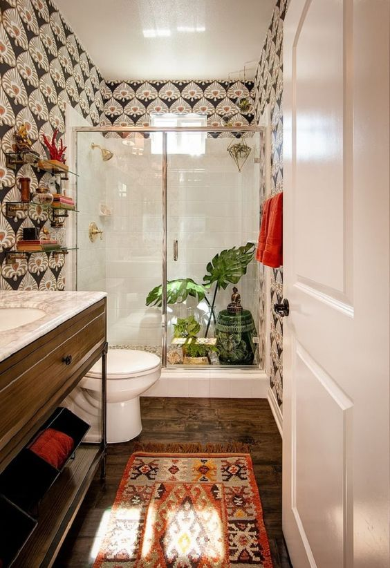 Bathroom Ready For Guests