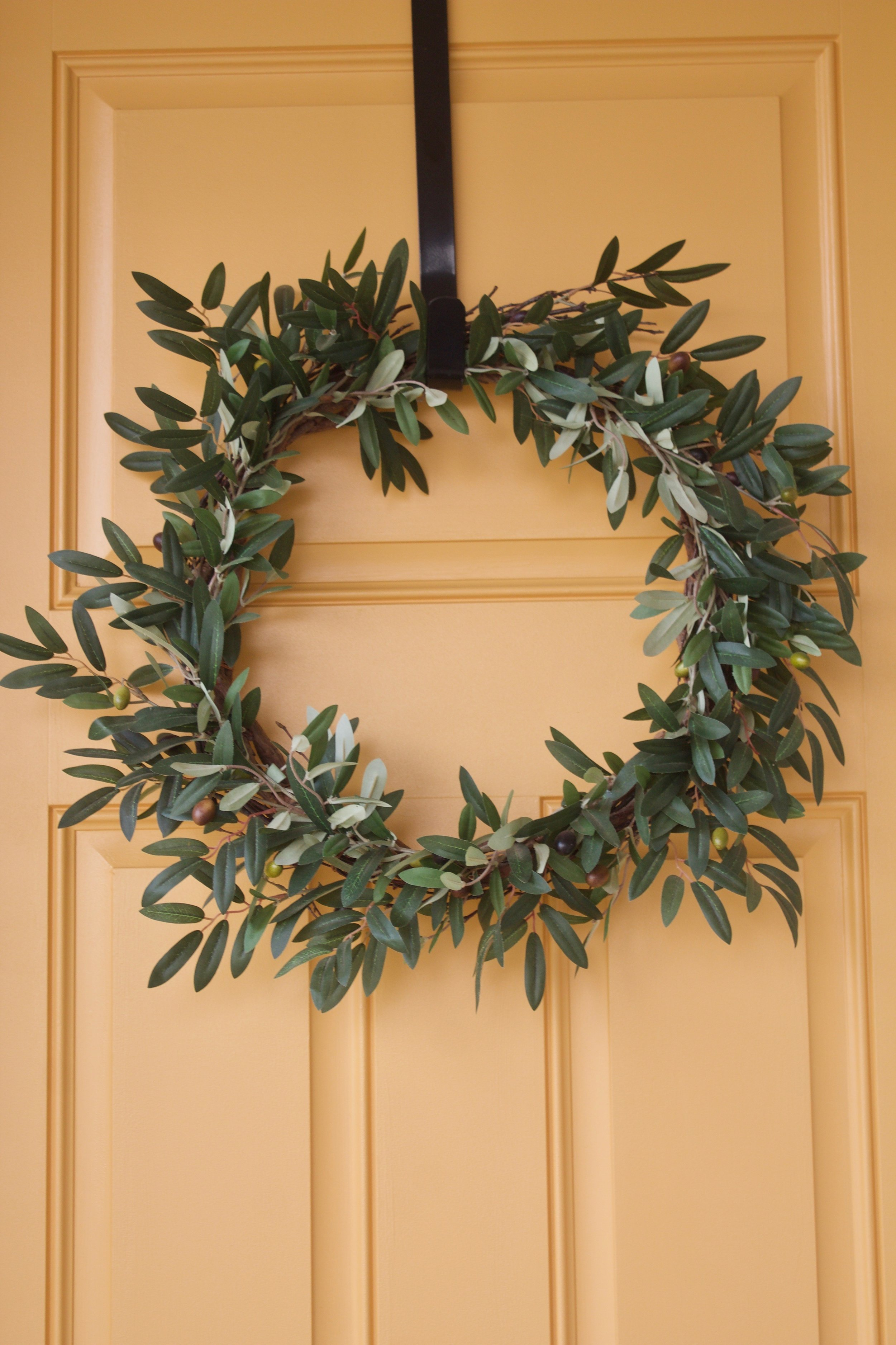 """Our wreath from  """"Silk Plants Direct"""""""