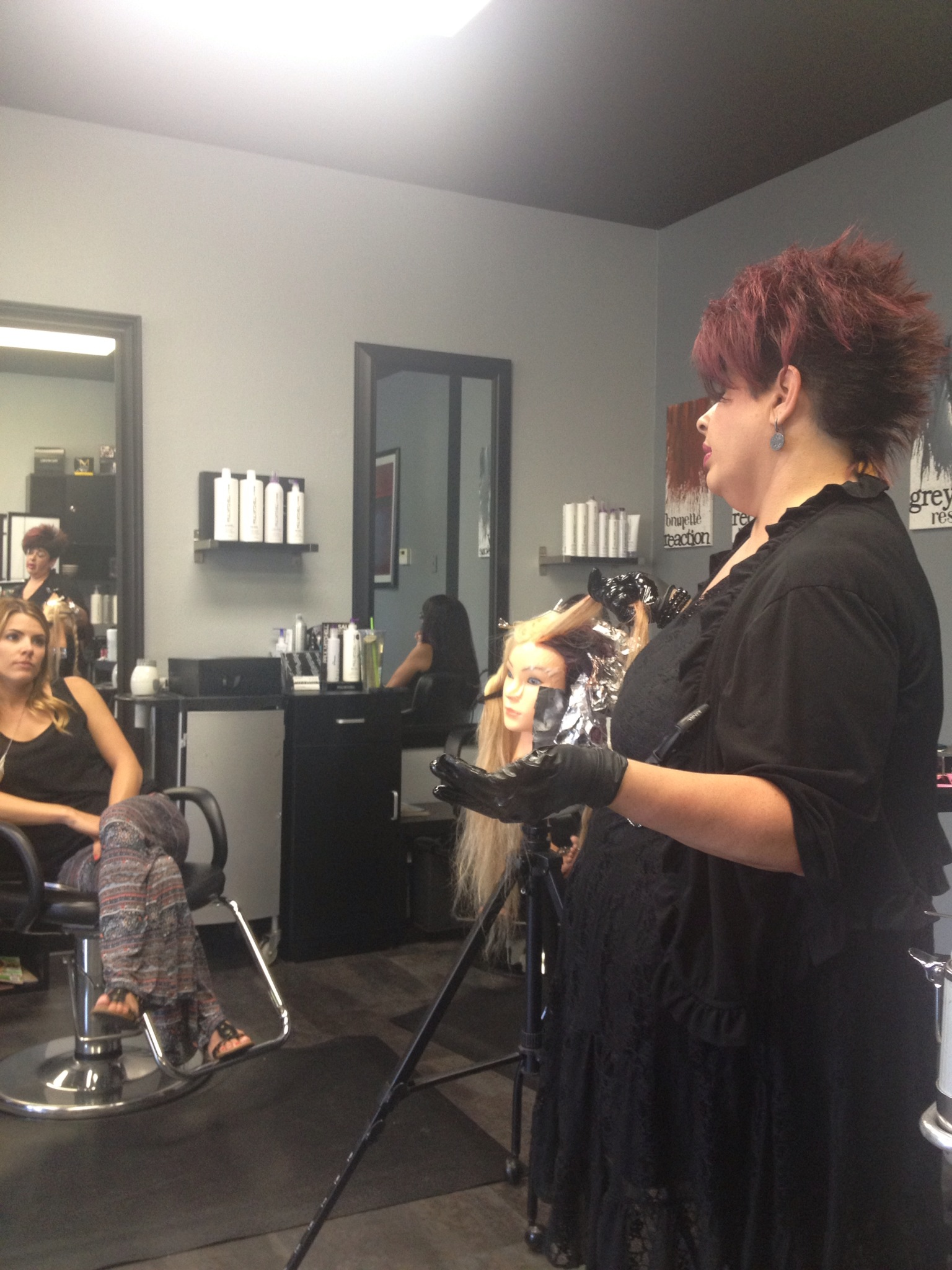 Paul Mitchell Origami collection taught by Paul Mitchell national educator Cindy Bleir
