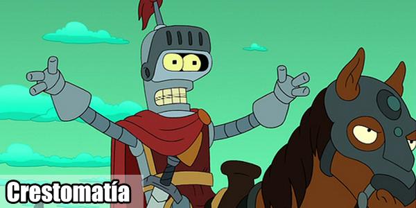 Bender, la representación perfecta de un Androide con creatividad. Clarísimo ¿no?