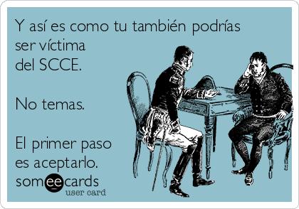Si has descubierto que sufres de SCCE, no tengas miedo. Tiene solución.