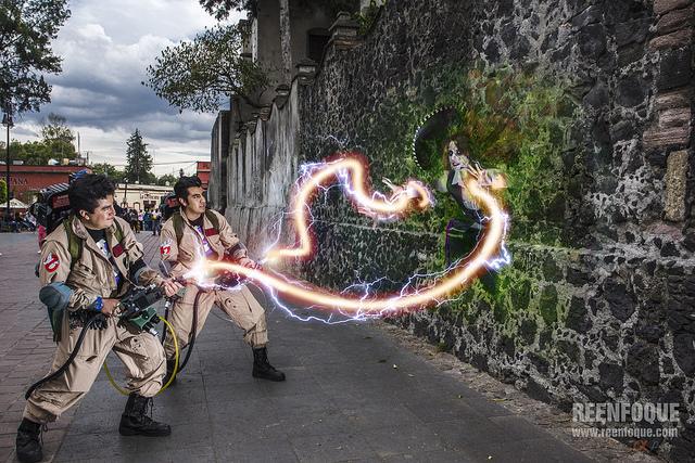 Fantasma Mariachi clase 4 en Coyoacán, lo típico.