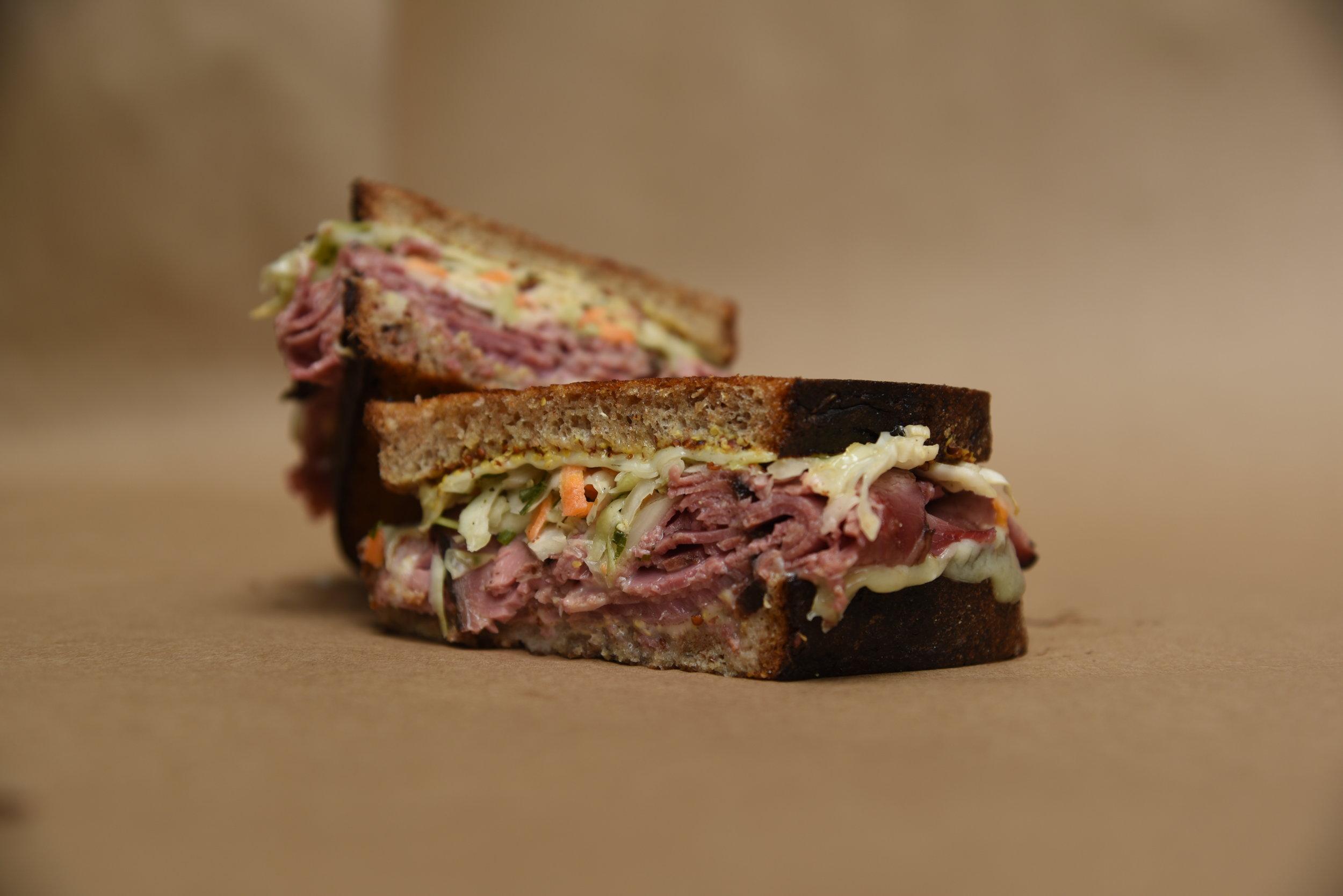 Sandwich Menu -