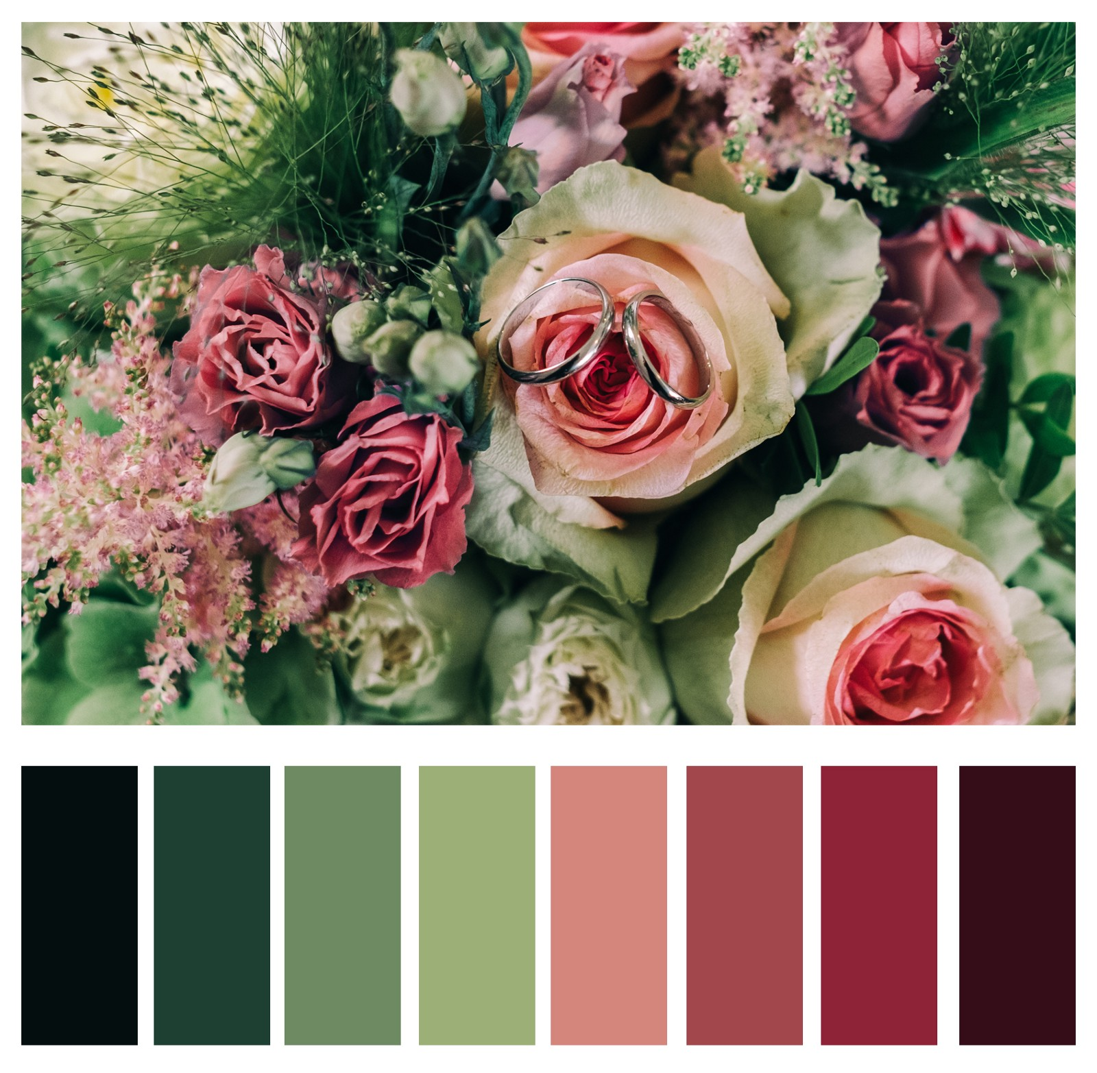 3б. Відтінки зеленого та червоного є протилежними