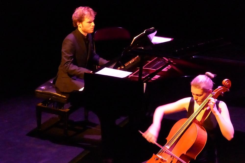 Thomas Tacquet-Fabre, piano       Maude Ferey, violoncelle