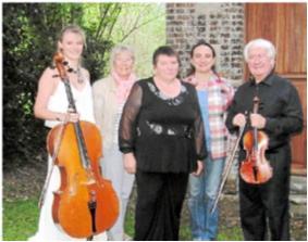 Récital Violon-Violoncelle en l'Eglise d'Englesqueville en Auge, en Septembre 2014  Jean-Pierre Lacour, Violon  Maude Ferey, Violoncelle