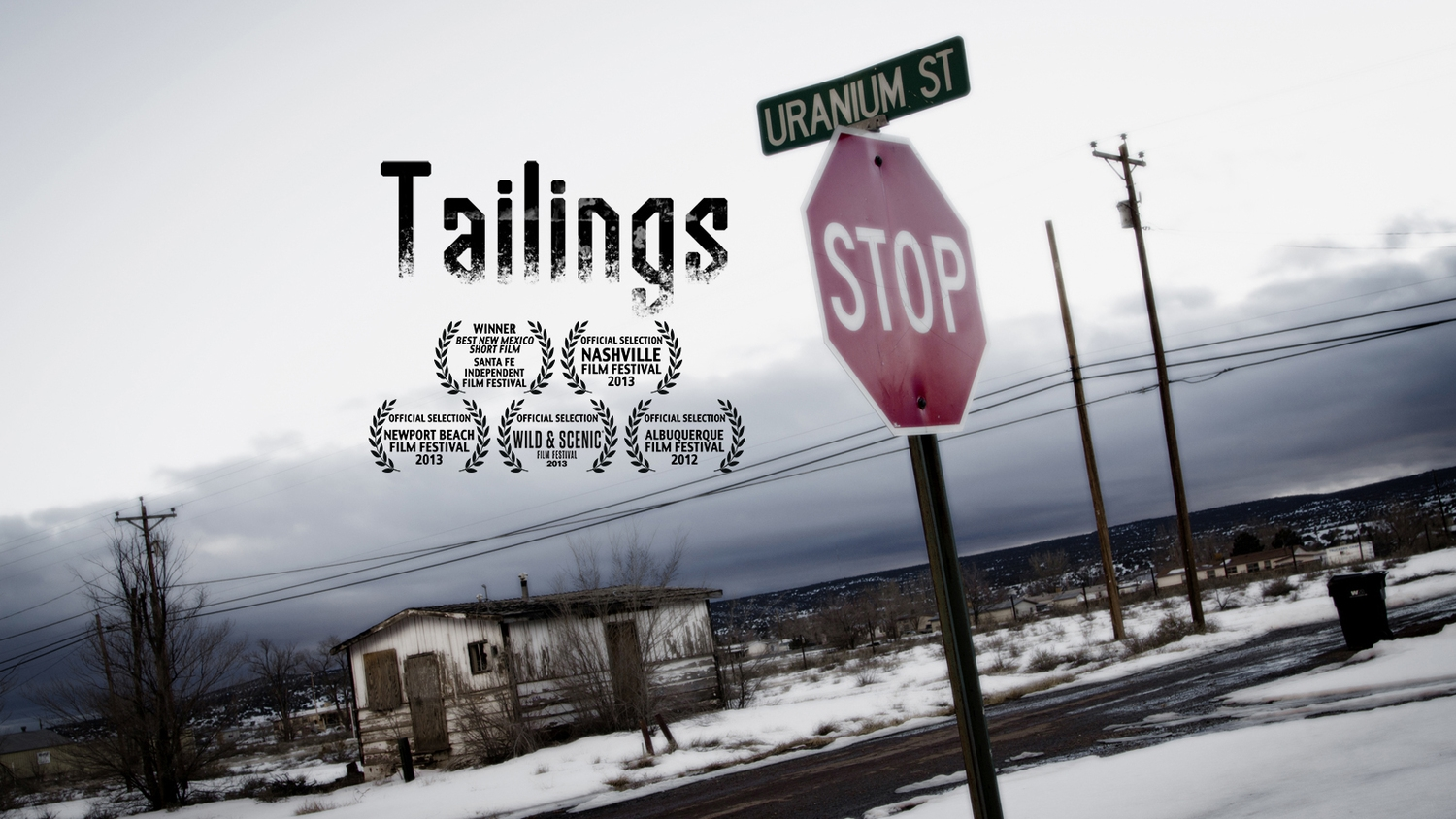 TAILINGS  - producer, co-cinematographer, editor.  12 minutes