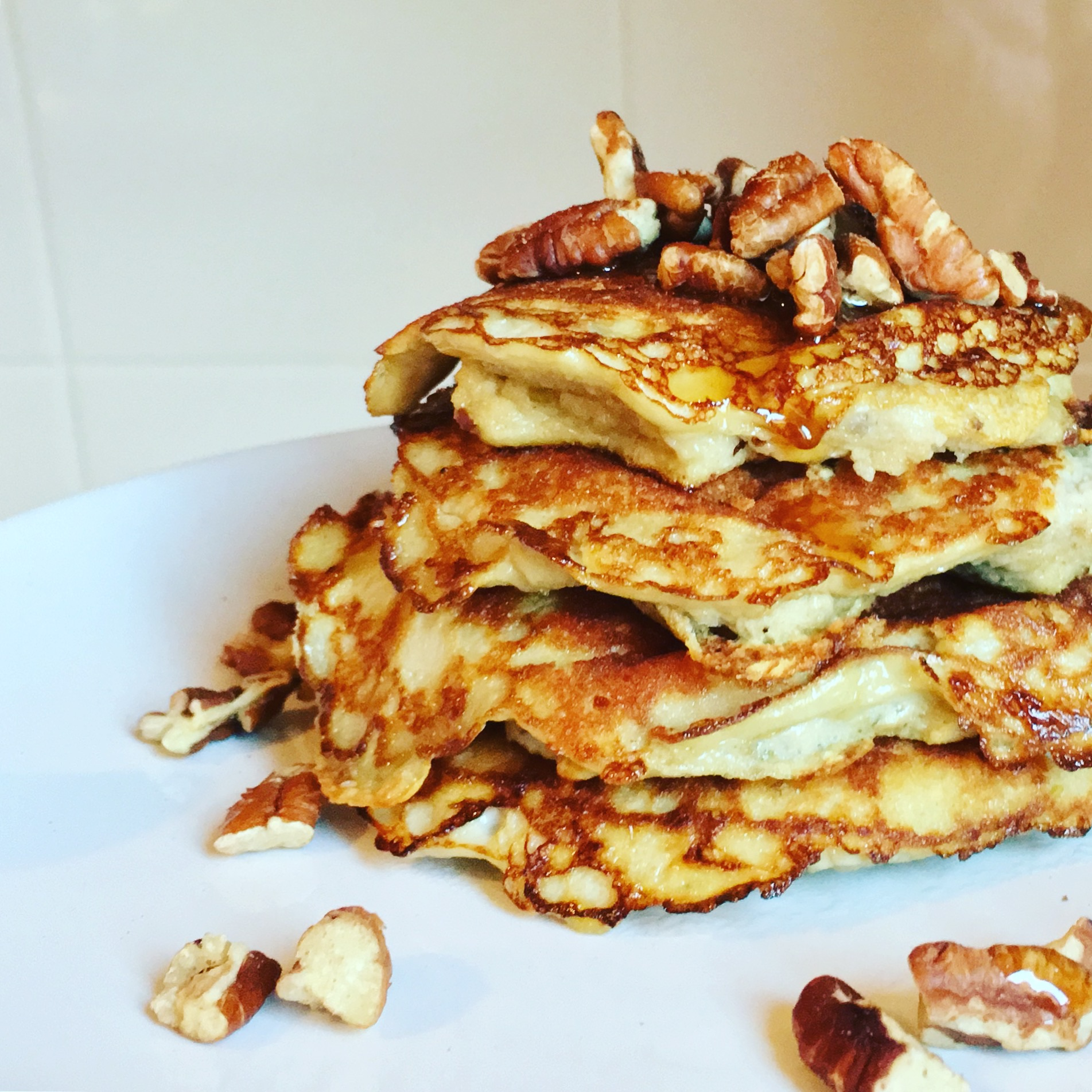 My Paleo Apple Pancakes
