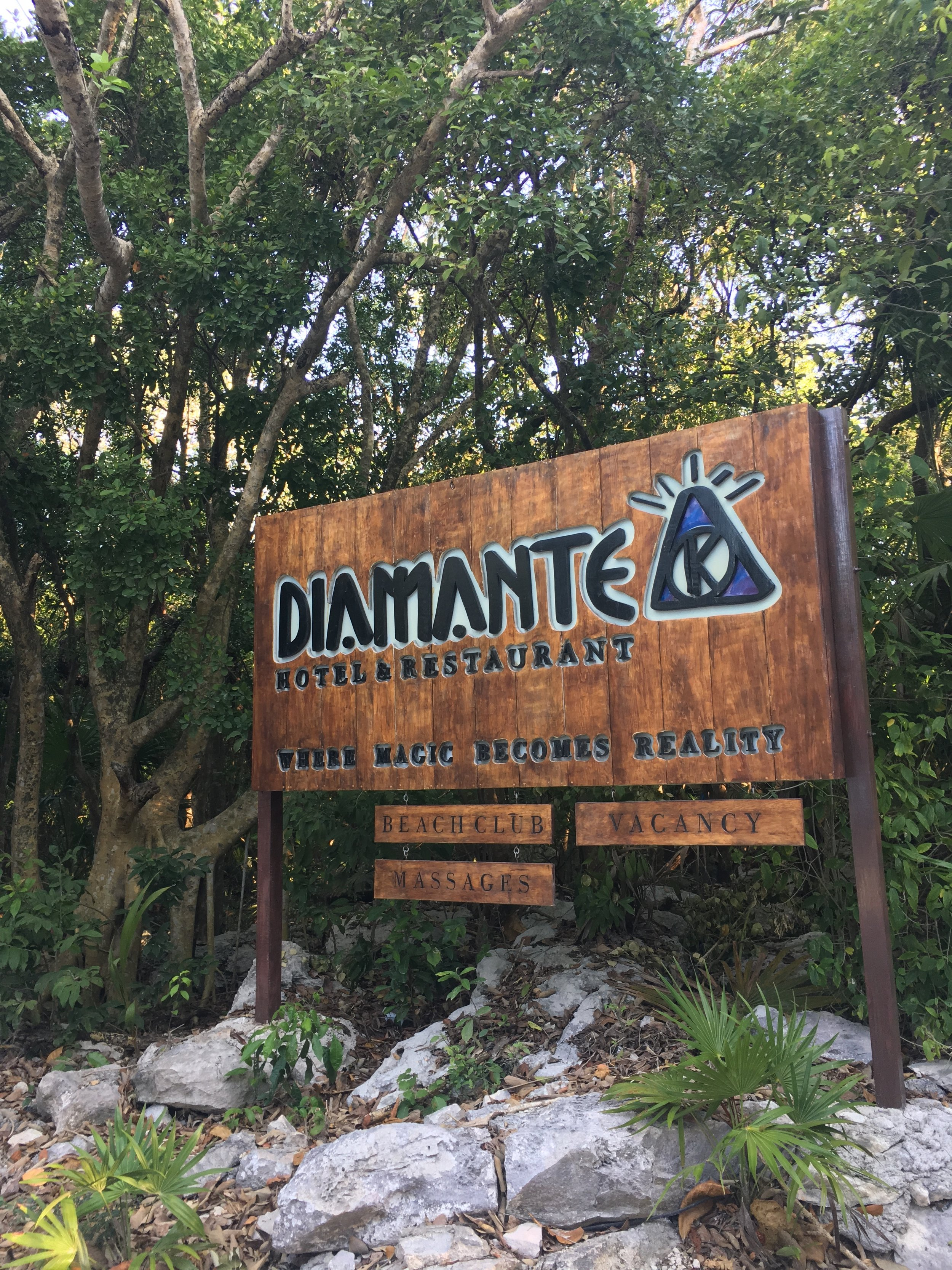 "Welcome to Diamante K ""where magic becomes reality"""