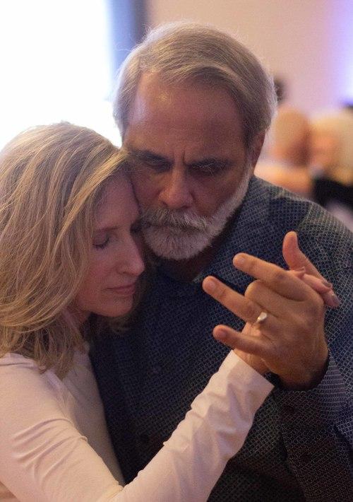 Gloria Wright with John Wright, Berkeley, California, 2016.