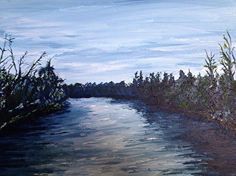 Elbow River, Calgary.  Sold