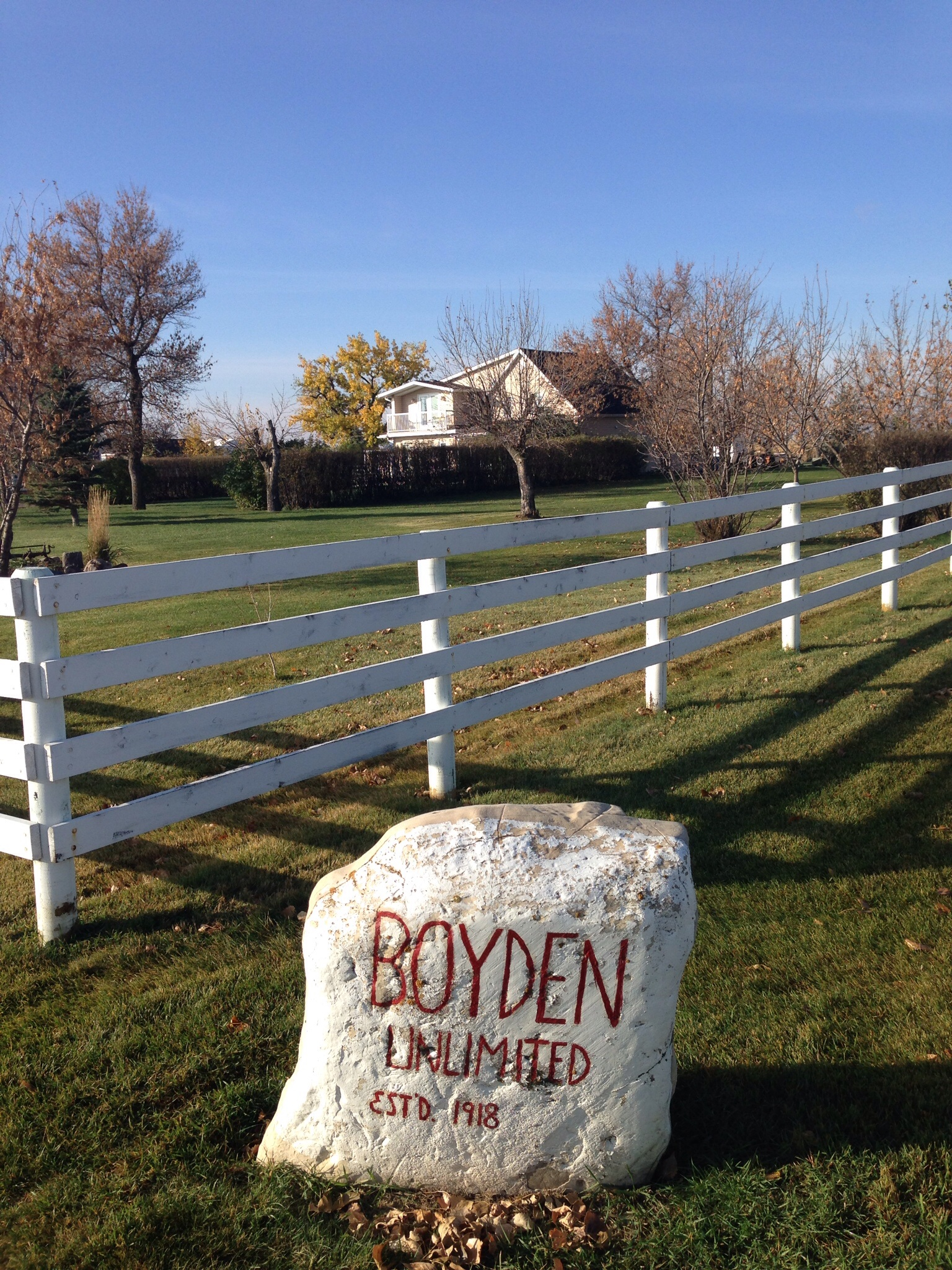 The Boyden Rock, and the house where my mother grew up.