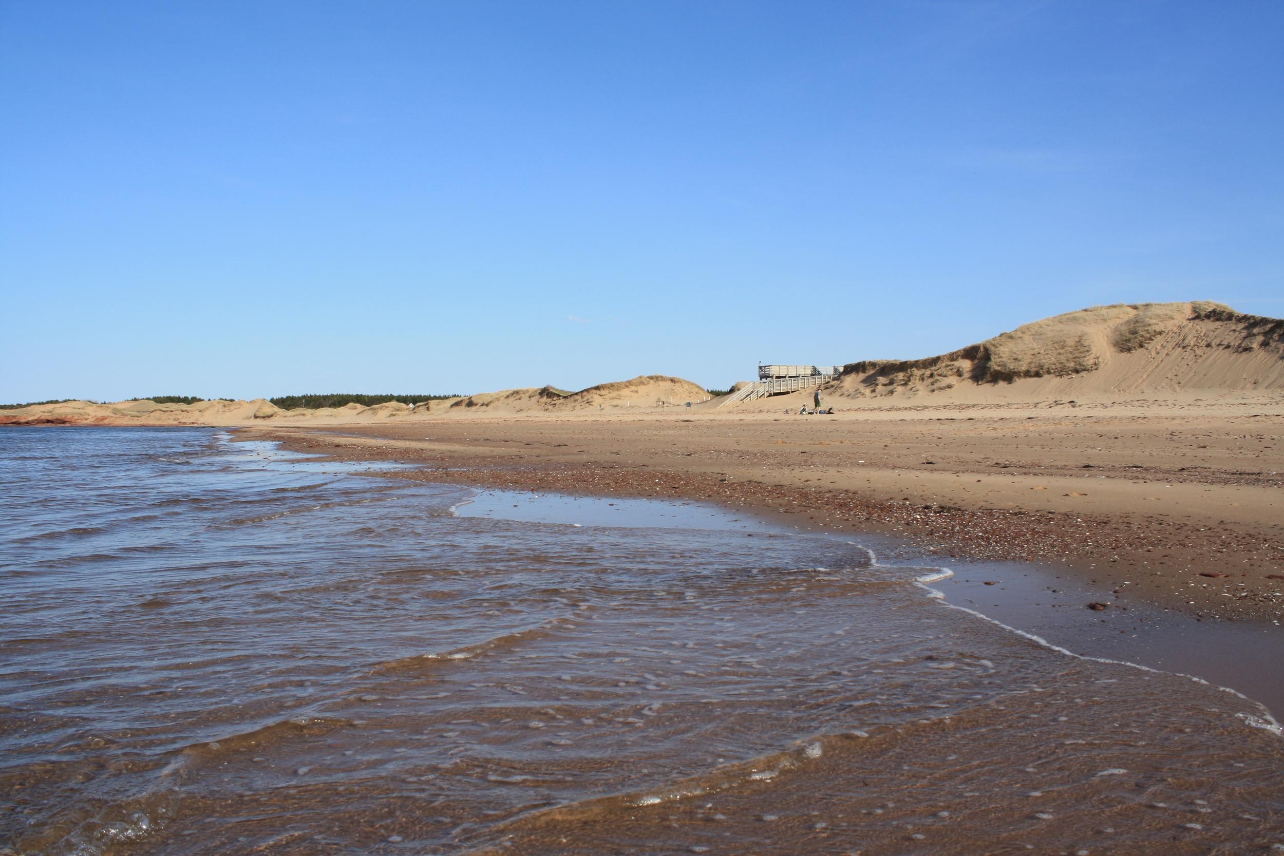 The Beach at Cavendish, North Shore, P.E.I.