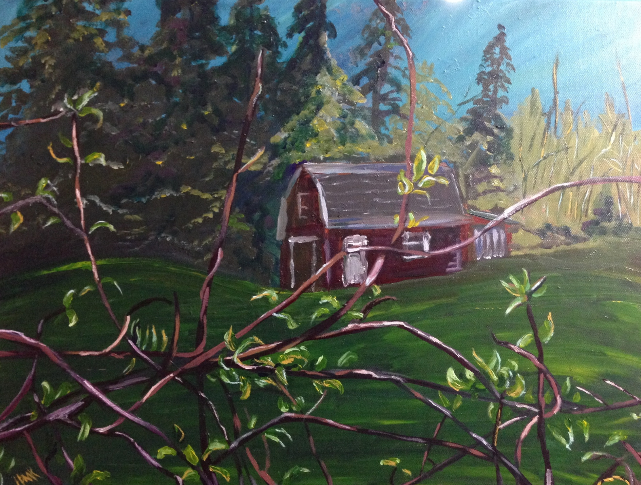 View from the Deck, P.E.I.   SOLD