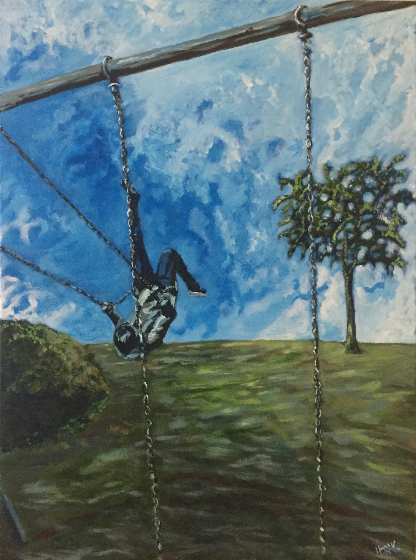 She Swings and the Clouds Part