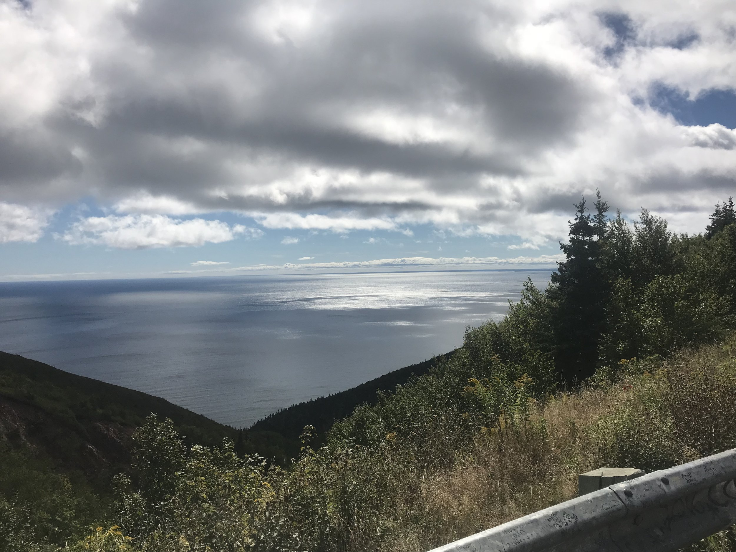 View from the Cabot Trail