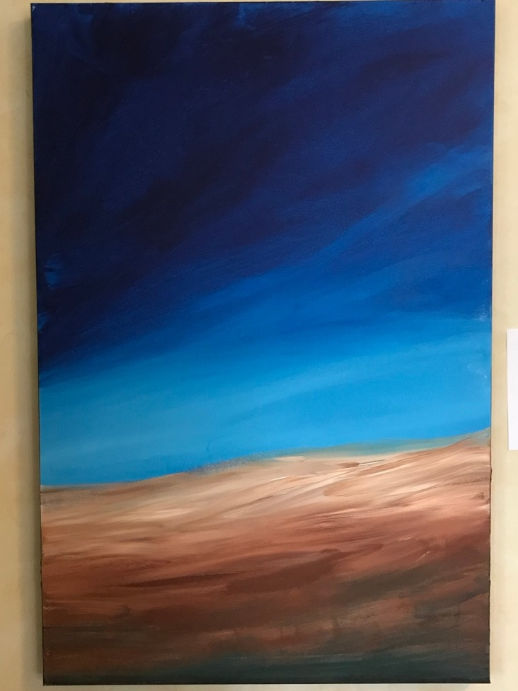 Prairie Sky.  Acrylic on Canvass.  2'x3'.  PopUp Price: $1296