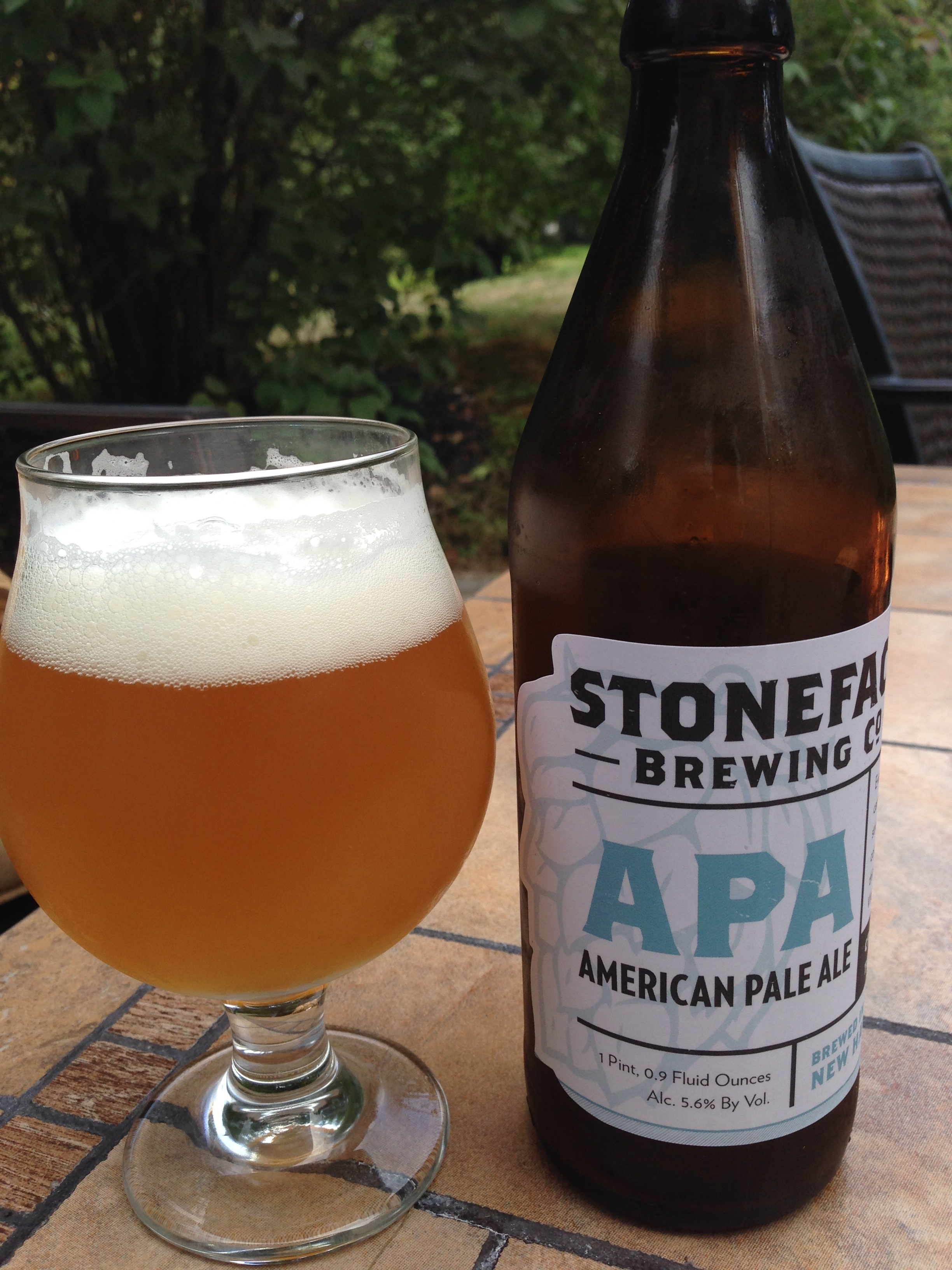 Stoneface Brewing Company: APA: America Pale Ale