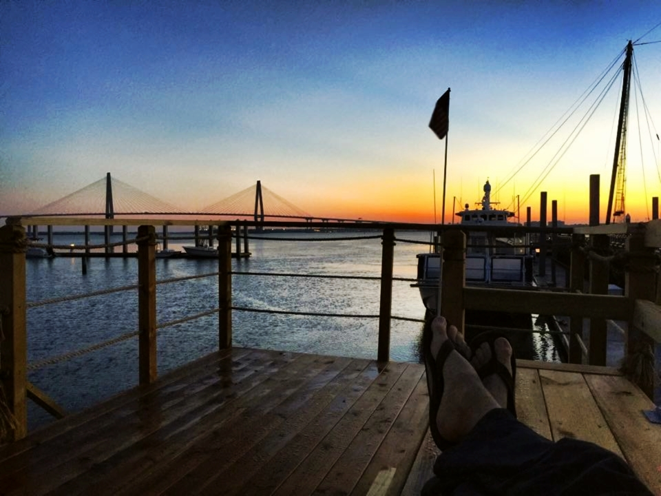 One of many beautiful Palmetto State sunsets