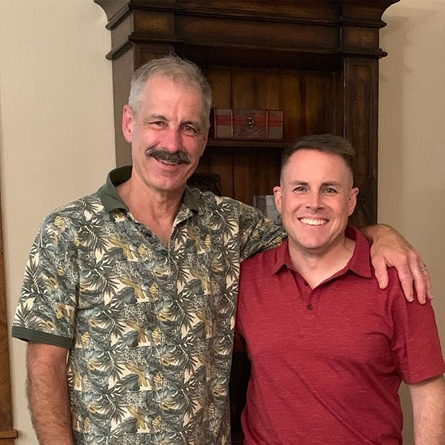 So thrilled to spend some time with a great friend and mentor. Thank you Gen(ret) Marcus Jannitto for all the advice and leadership you provided me during the Air National Guard Commander Development Course a few years back. It was great catching up with you. @teamscottafb @leaderdevelopment @prodev @airnationalguard