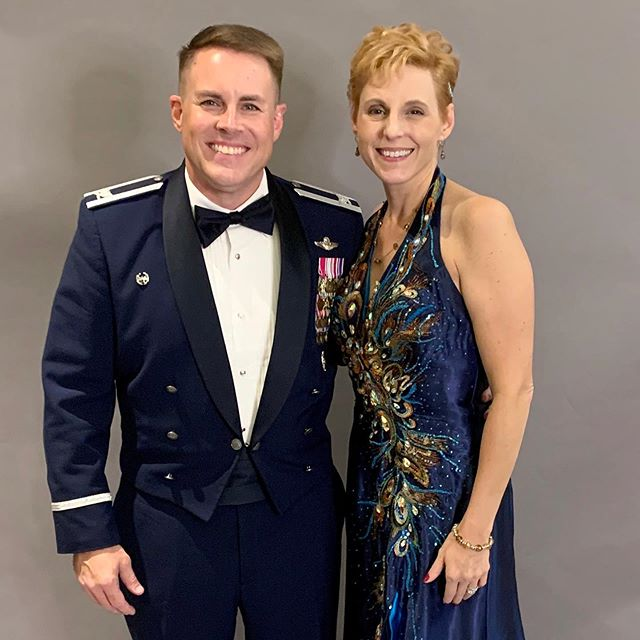 A wonderful night at the Scott AFB Military Ball. Big thanks to the ball committee and our special guest speaker Ms Mandy Vaughn from Vox Space. Celebrating Scott's Lighter Than Air Years with a nod to the future! Scott AFB Air Force Ball Scott Air Force Base #LighterThanAir #HBAF72 #HappyBirthdayUSAF