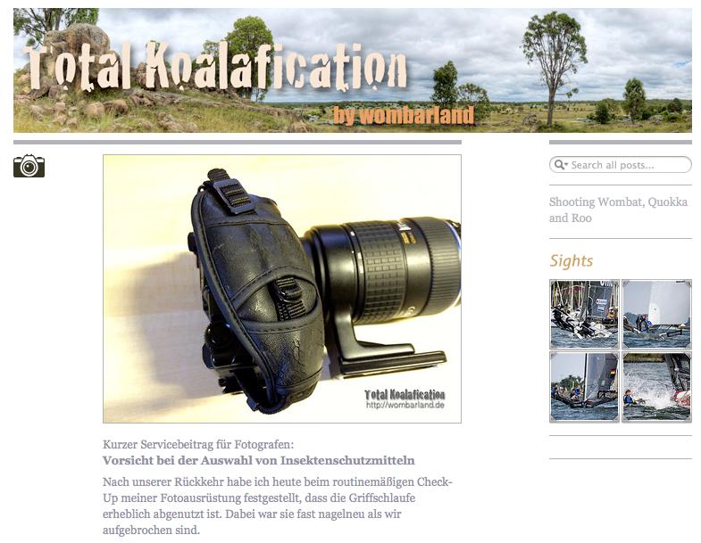 Klick aufs Bild führt zur Startseite des Reiseblogs