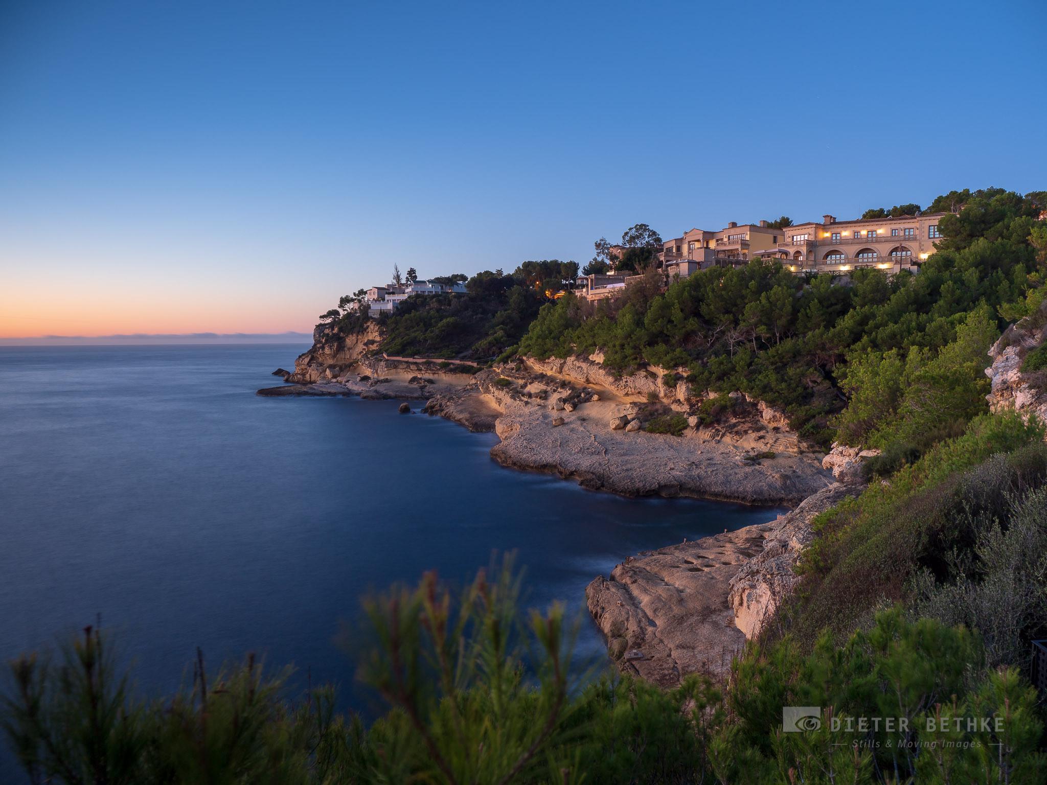 Early morning view at Sol de Majorca