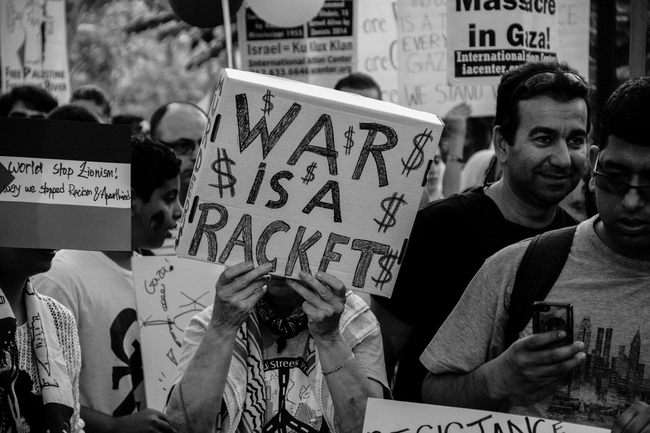 Solidarity with Gaza, Brooklyn, NY, April 2014