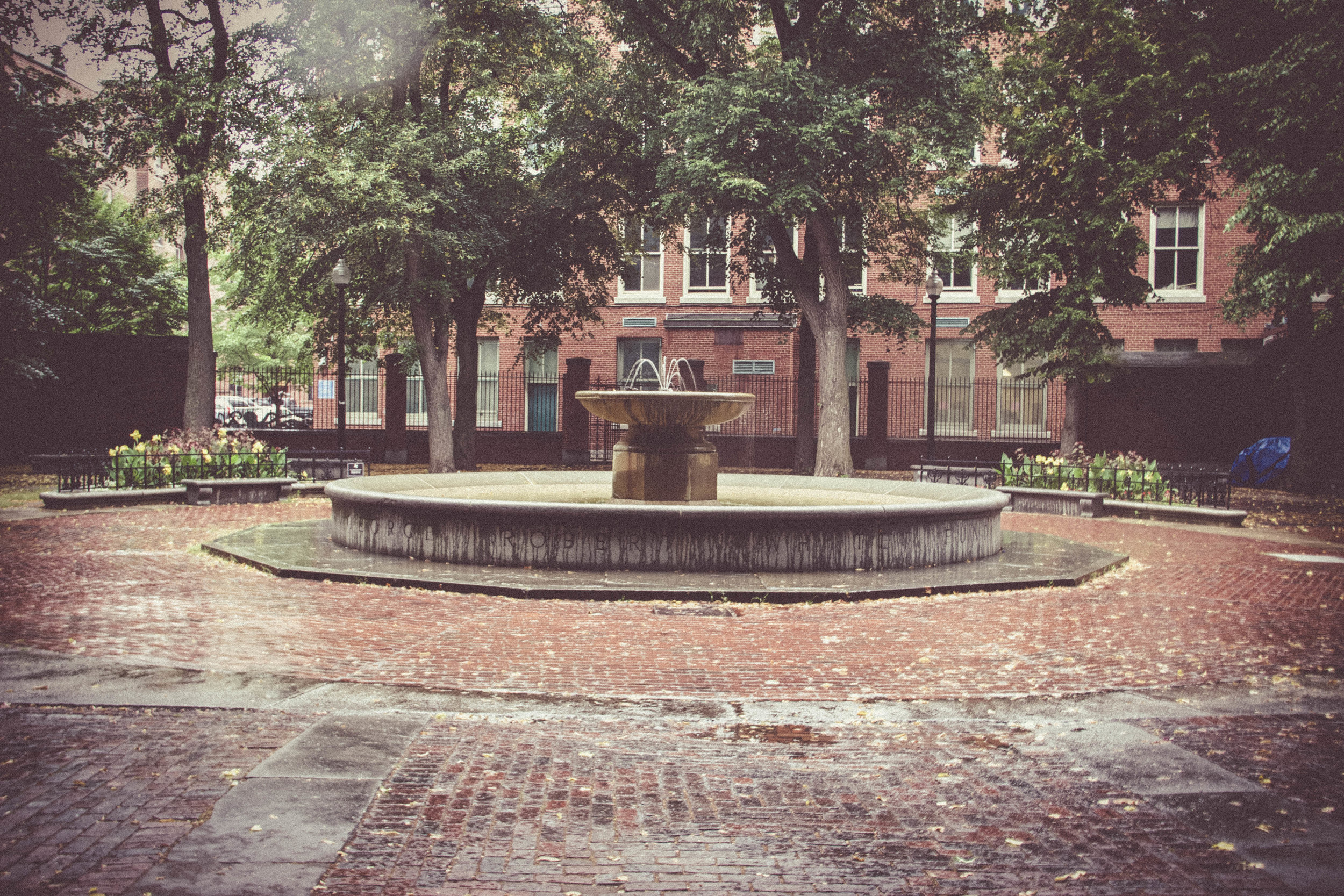 Paul Revere Fountain, Boston, MA