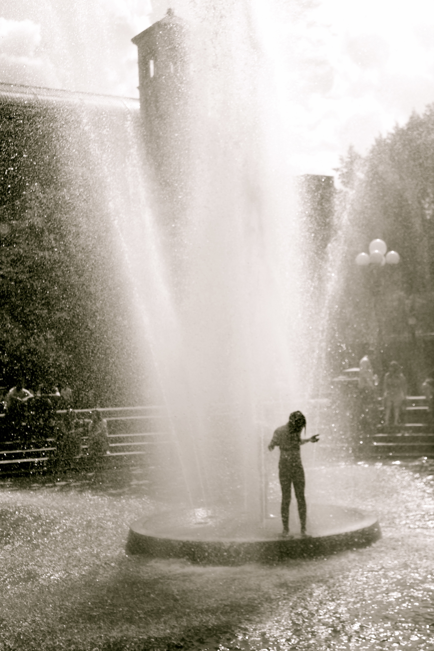Fountain at Washington Square Park, Manhattan, New York