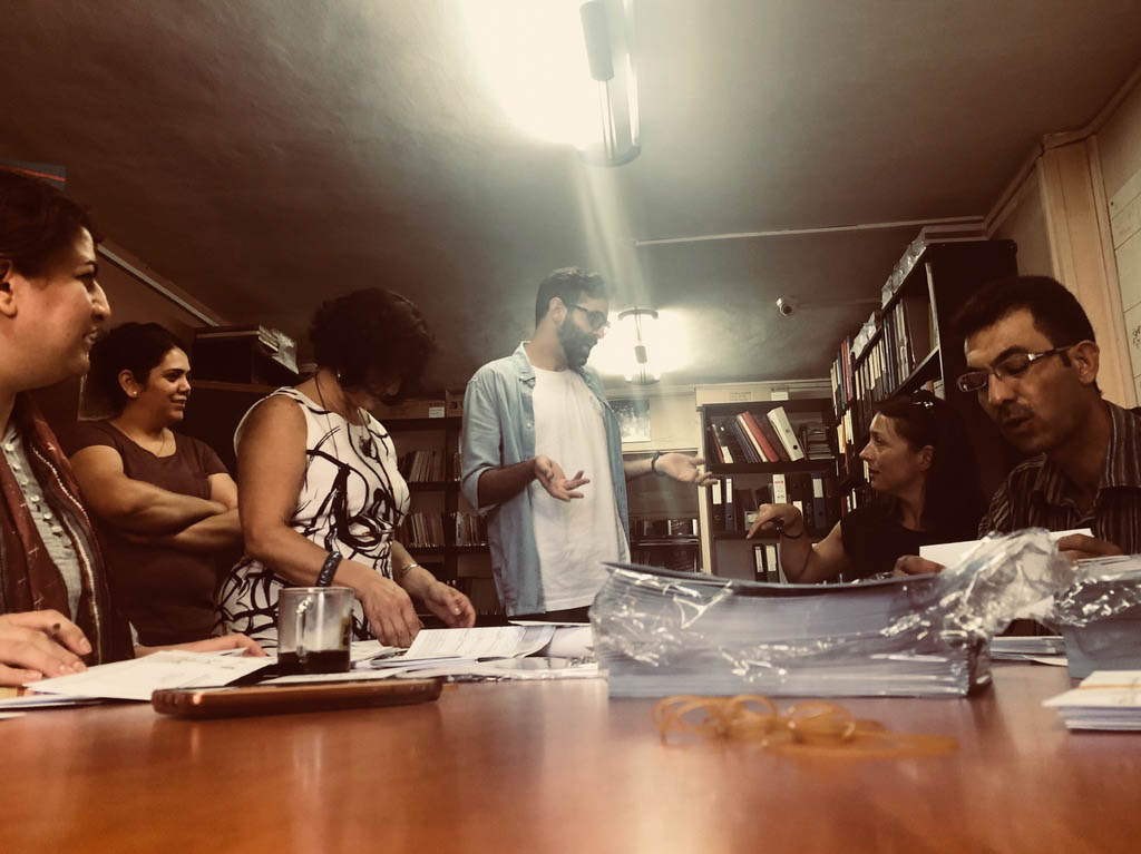 ASHTAR Theatre Artistic Meeting