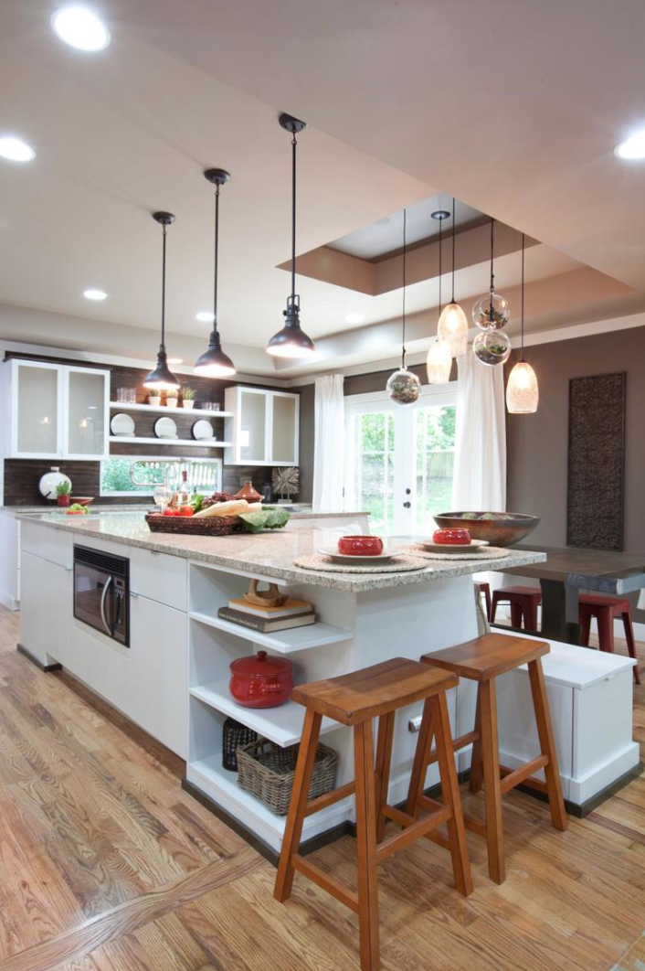 Modern Rustic Kitchen, HGTV's Elbow Room Season 2