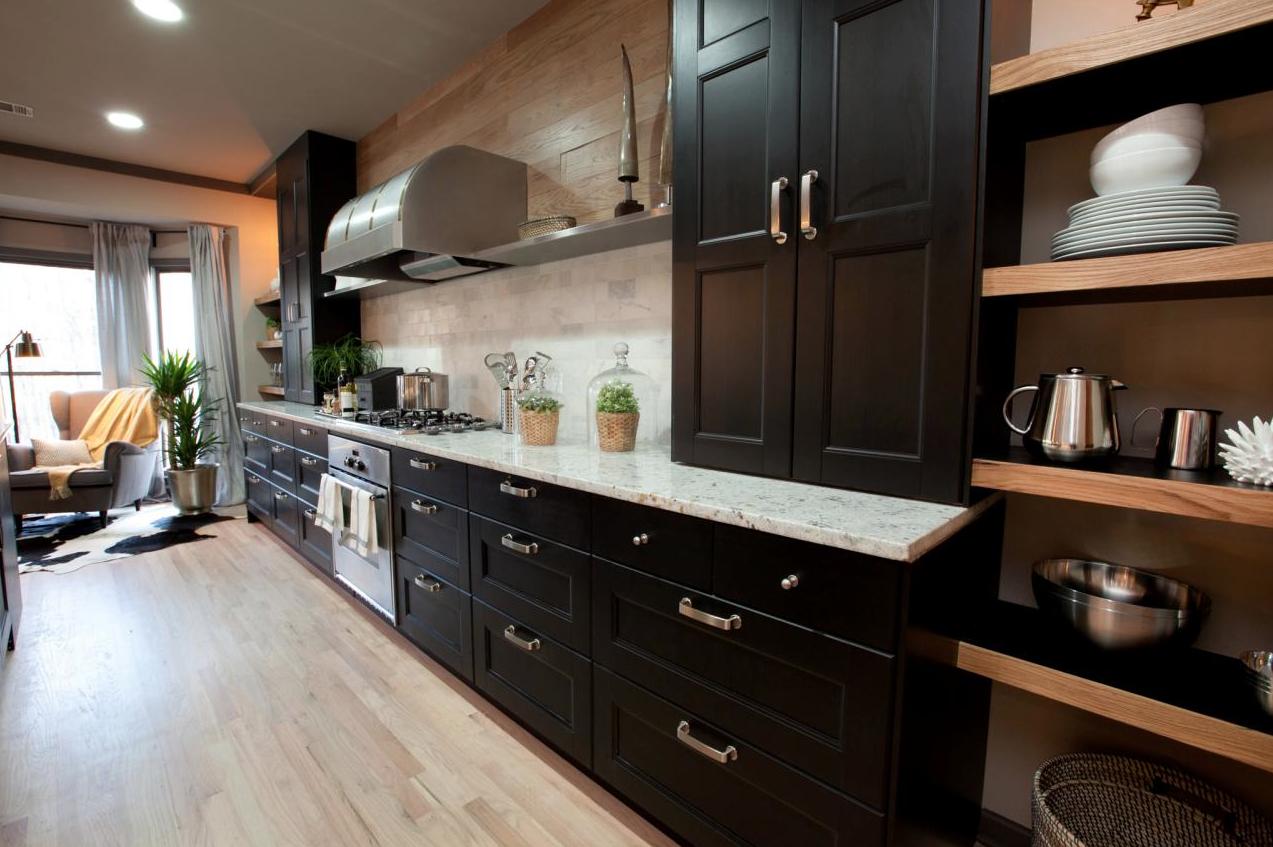 Transitional Kitchen, HGTV's Elbow Room Season 1