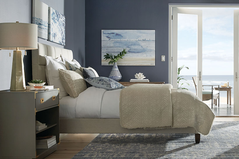 Coastal Bedroom for THD